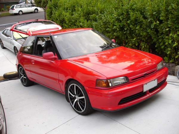 Narutochen 1993 Mazda 323 Specs, Photos, Modification Info At