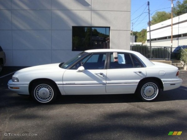 1997 White Buick Lesabre Limited  36480803