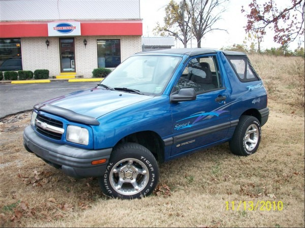 Kcraptor82 2000 Chevrolet Trackersport Utility Convertible 2d