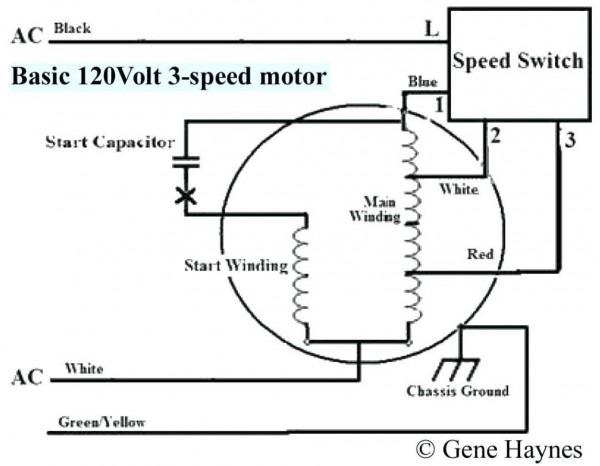 Way Switch Wiring Diagram Motor on