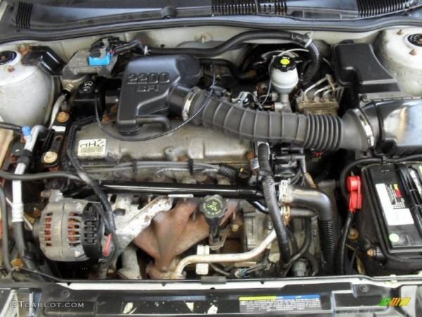 2002 Pontiac Sunfire Se Coupe 2 2 Liter Ohv 8