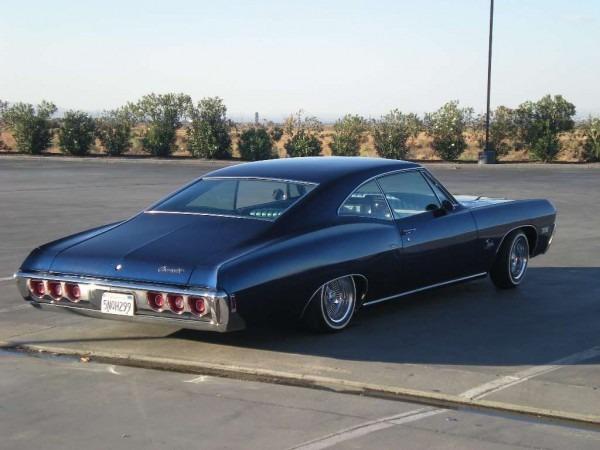 Impala, Fastback