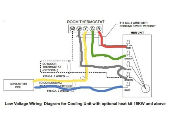 Honeywell Thermostat Wiring Color Diagram