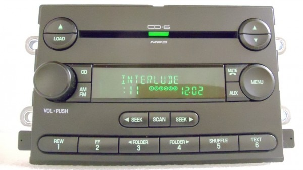 Ford Five Hundred Montego Cd Radio 5g1t  U2013 Car Wiring Diagram