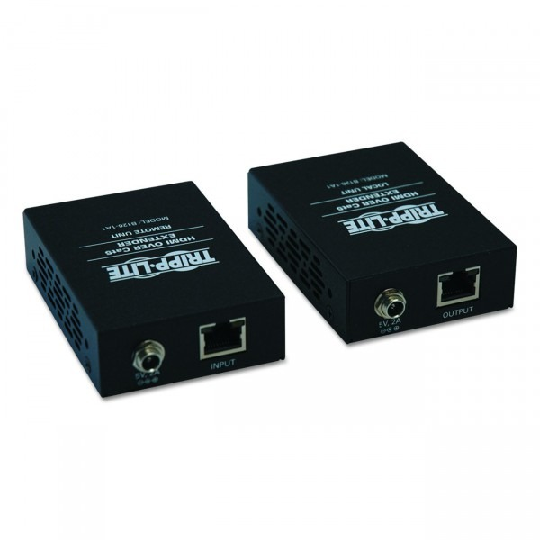 Amazon Com  Tripp Lite Hdmi Over Cat5   Cat6 Extender, Extended