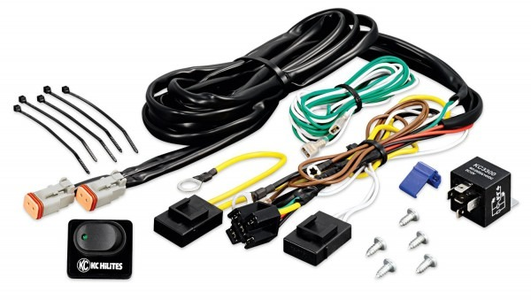 Wiring Harness With 40 Amp Relay And Led Rocker Switch