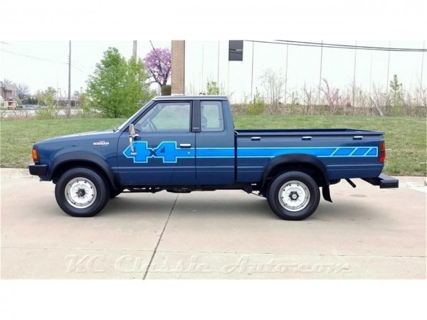 1983 Nissan 720 Pickup King Cab 4x4 For Sale