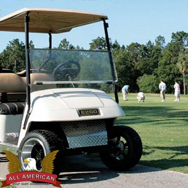 Amazon Com   Clear Folding Windshield For Ezgo Marathon Golf Cart