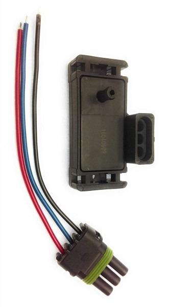 Amazon Com  2 Bar Map Sensor For Gm Turbo Boost W Plug