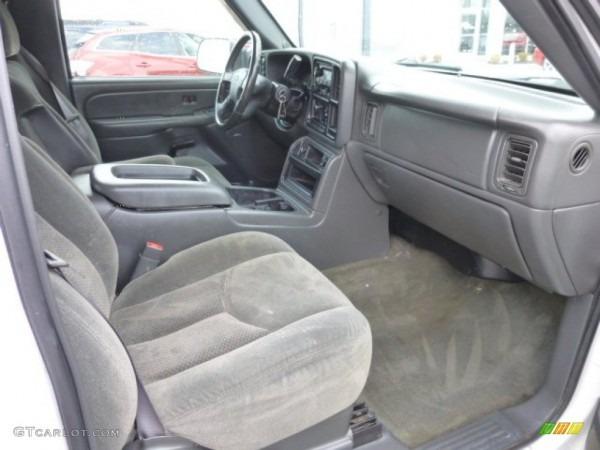 Dark Charcoal Interior 2004 Chevrolet Silverado 2500hd Lt Crew Cab