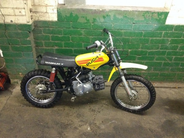 Puch Magnum X Kids Bike 50cc Automatic Rare Project Good