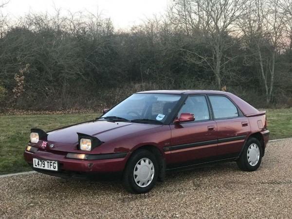 Mazda 323 Glx Automatic Rare Classic 1993 New Mot