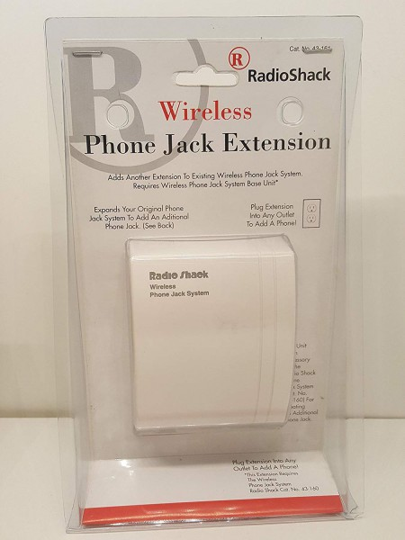 Amazon Com  Radio Shack Wireless Phone Jack Extension  Electronics