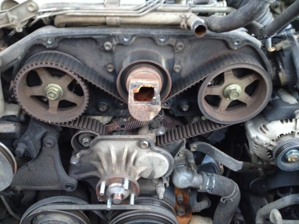 1990 4runner 3 0l Head Gasket, Water Pump, Thermostat, And Timing