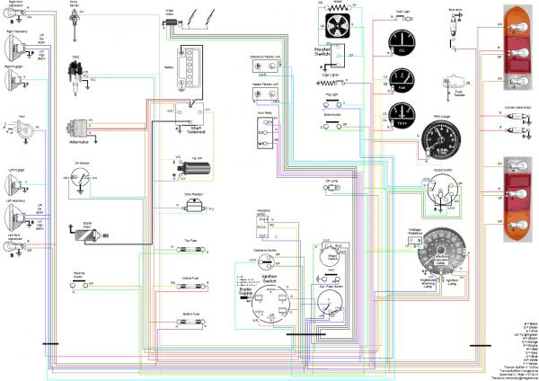 Spitfire Mkiv Wiring Diagram