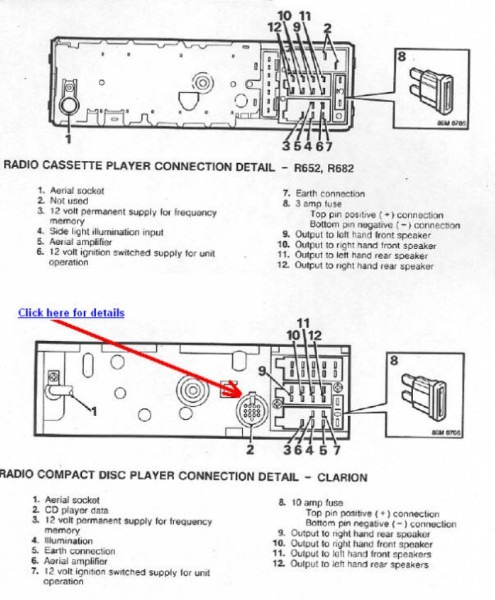 Alpine Radio Wiring Diagram
