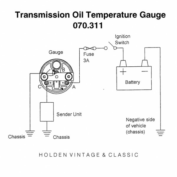 Temperature Gauge Wiring Yacht