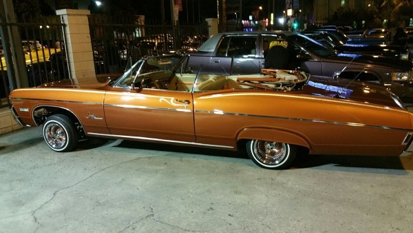 1968 Impala  We On Hollywood Blvd