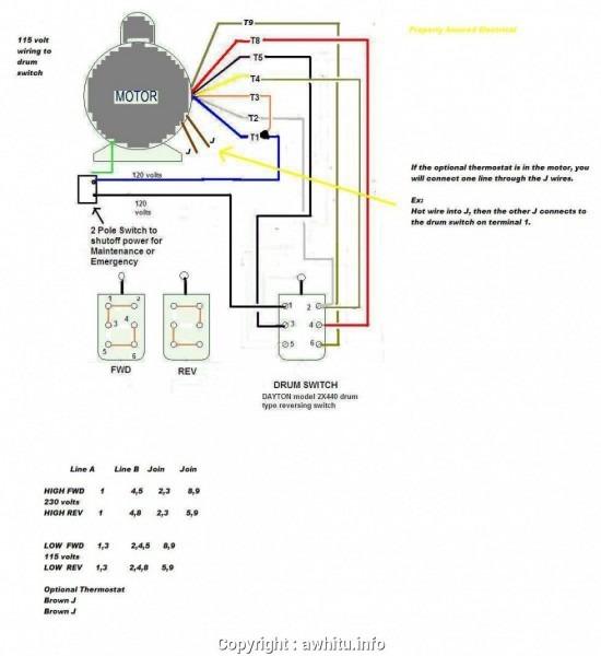 115 230 Volt Wiring Diagram