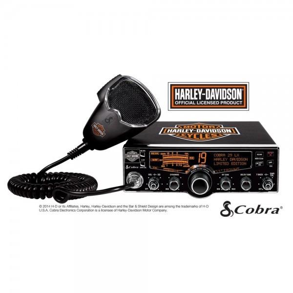Cobra 29 Lx Hd Le Harley Davidson Cb Radio