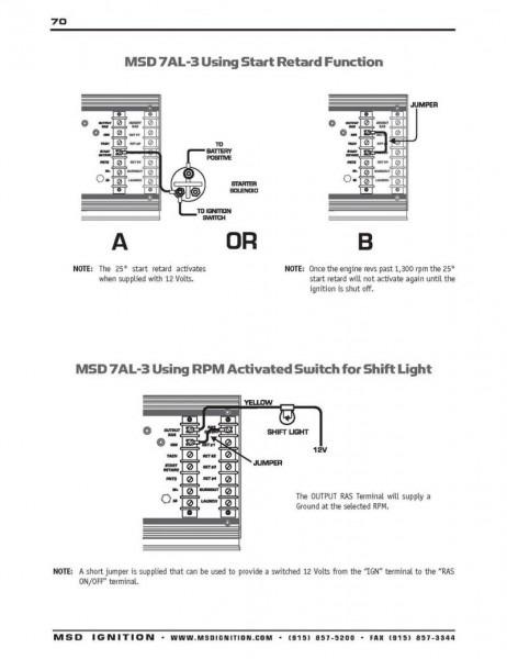 Msd 7al Wiring Diagrams Ford
