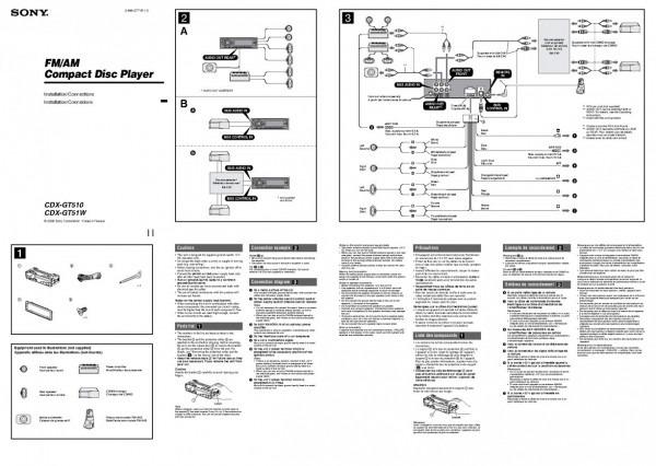 diagram sony cdx gt400 wiring diagram full version hd