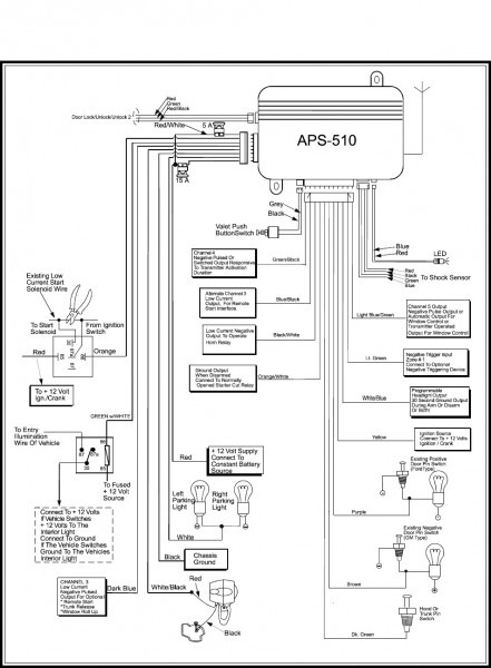 Bulldog Car Wiring Diagrams  U2013 Car Wiring Diagram