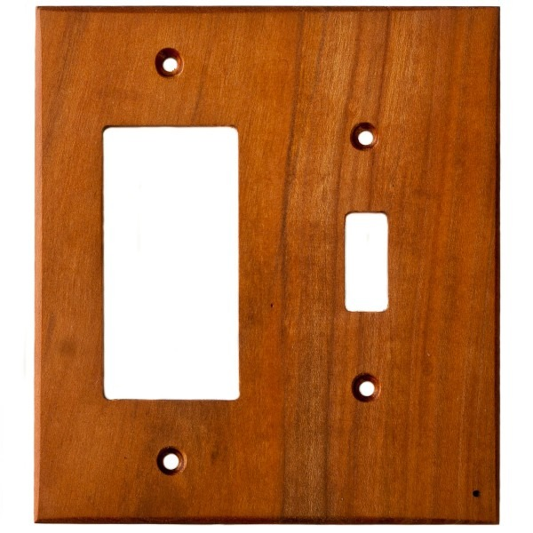 Cherry Wood Wall Plates
