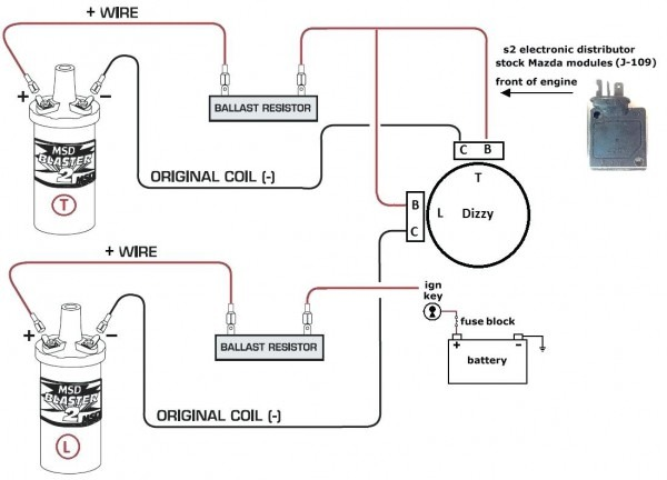 Accel Distributor Wiring Diagram
