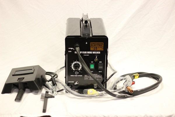 Chicago Electric Welder Review  170 Amp Mig Flux Wire Welder