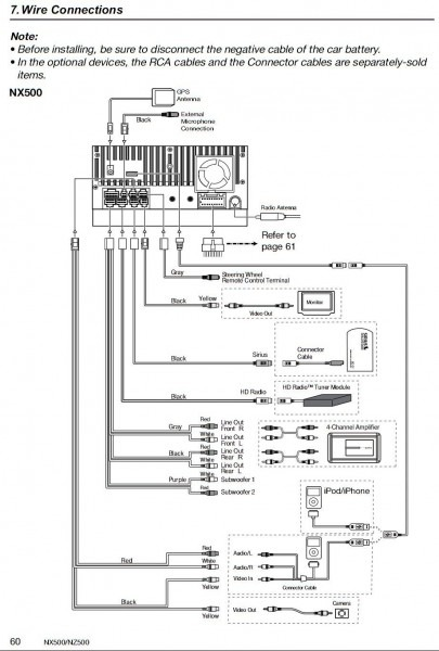 Clarion Wiring Harness Diagram