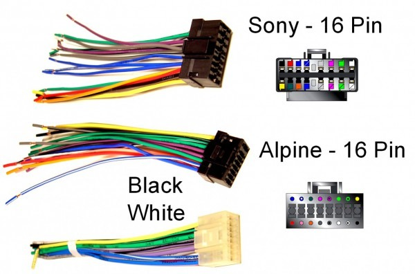 Sony Car Stereo Wiring Harness