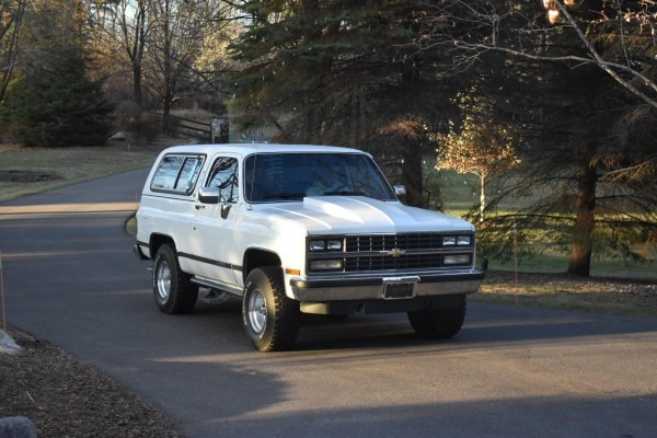 My 1989 Chevrolet K5 Blazer   Chevy