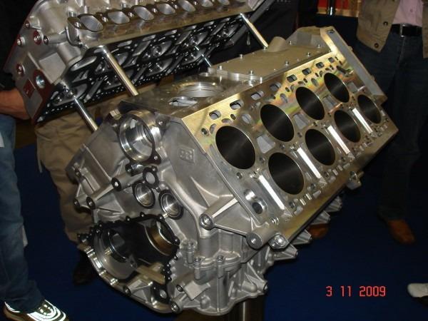 W16 Engine Block