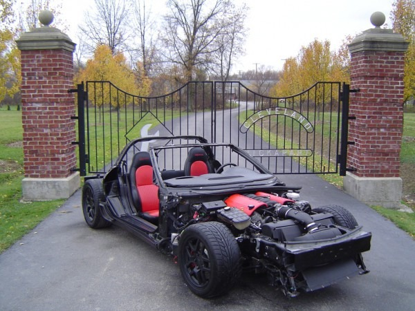 Donor 2001 Chevrolet C5 Z06 Corvette Rolling Chassis