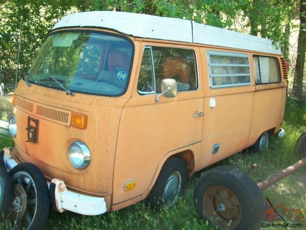 1974 Vw Westfalia Camper Van Volvo Engine Conversion Very Cool