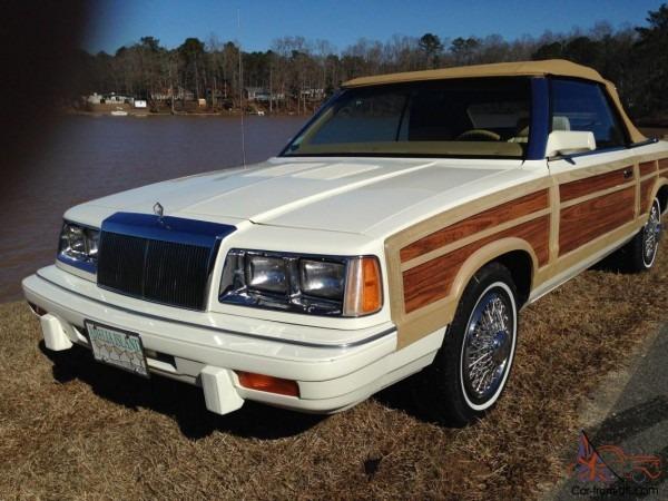 1986 Chrysler Lebaron Mark Cross Convertible