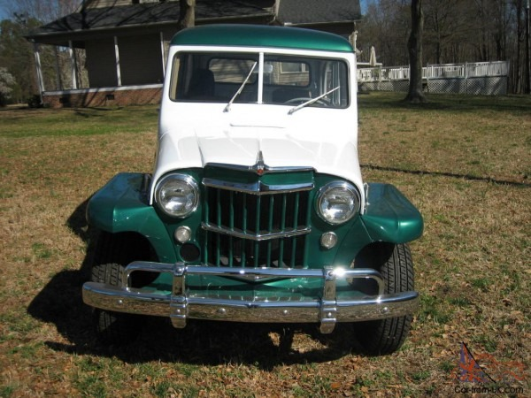 1958 Willys Jeep Station Wagon 27,686 Right Miles Mint Condition