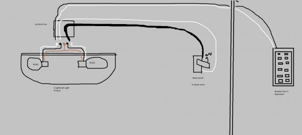 2 Wire Light Switch Diagram