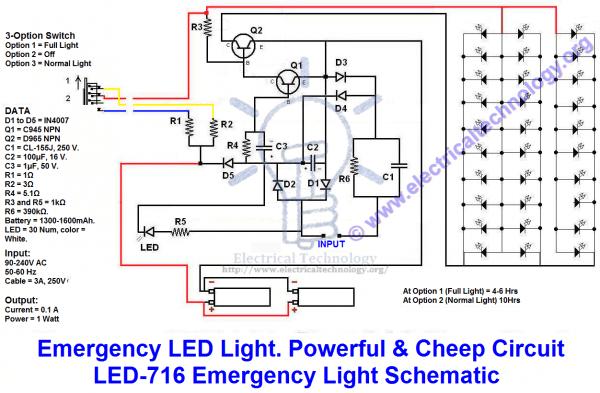Emergency Wiring Diagram