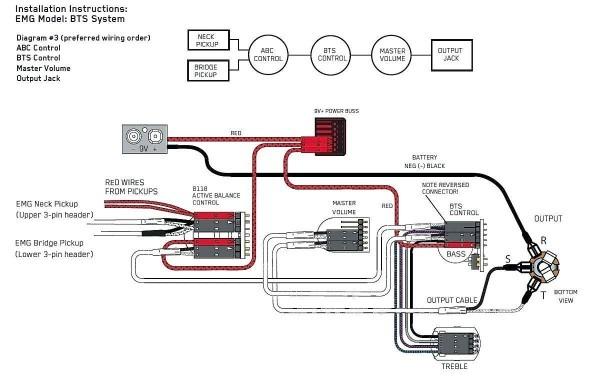 Emg Active Pj Wiring Diagram  U2013 Car Wiring Diagram