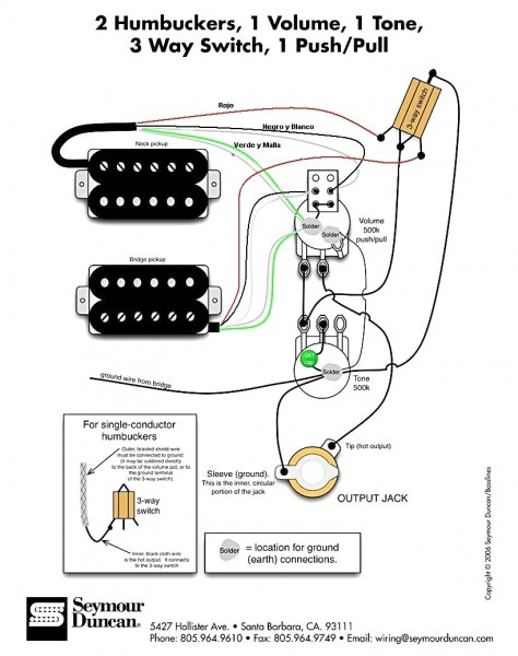 Emg 1 Volume 2 Tone Wiring Diagrams  U2013 Car Wiring Diagram