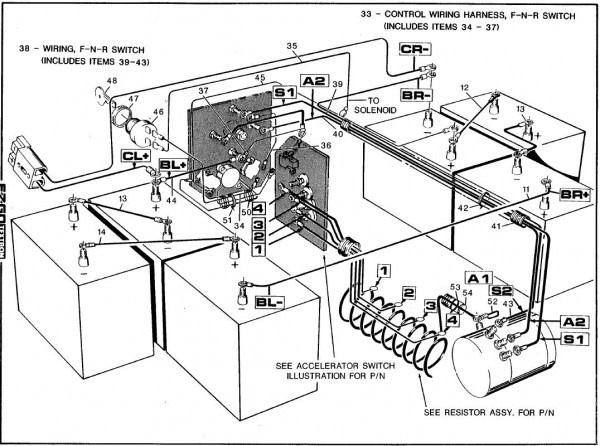 94 Ezgo Wiring Diagram