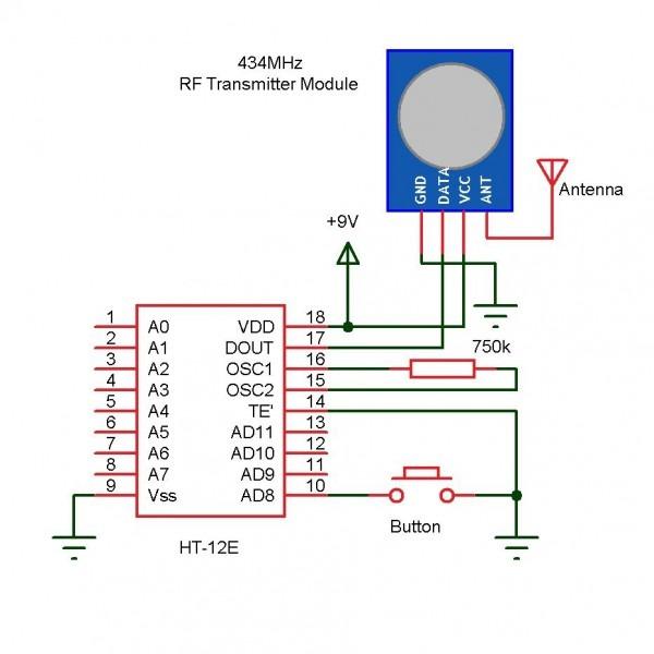 Wireless Doorbell Circuit Diagram Moreover Schematic Circuit
