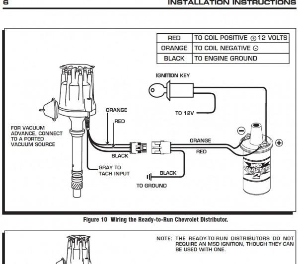 Ready To Run Distributor Wiring Diagram