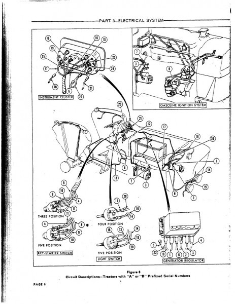 Ford Tractor Electrical Diagram