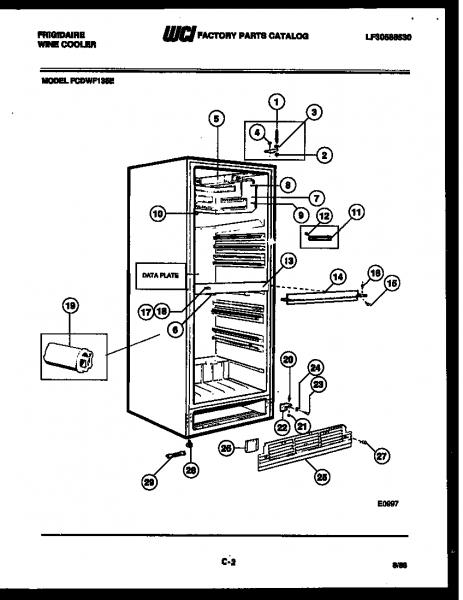 Frigidaire Upright Freezer Parts Manual