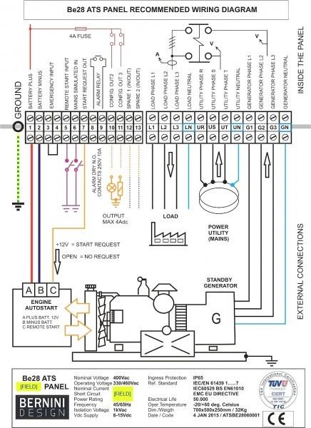 Generac Manual Transfer Switch Wiring Diagram Free Wiring Diagram
