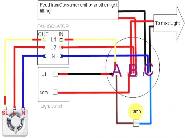 Hunter Fan Wiring Diagram