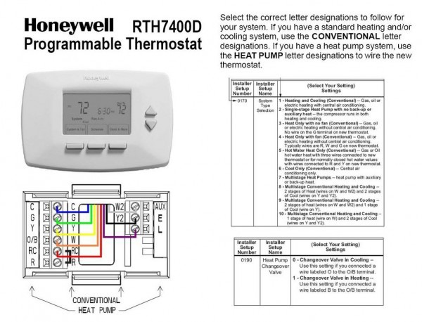 Goodman Package Unit Thermostat Wiring
